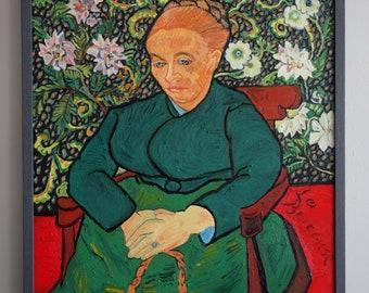 Copy of Van Gogh's, La Berceuse