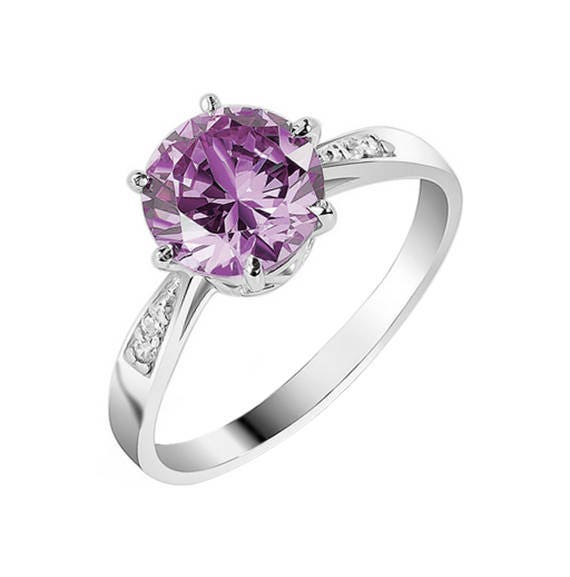 Alexandrite Ring Alexandrite Wedding Ring Promise Ring for Her