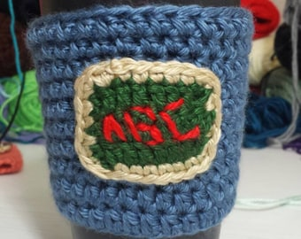 The ABC Cozy, Cup Cozy, Tea Cozy, Coffee Cozy, Coffee Sleeve