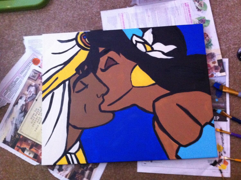 Disney Canvas Painting 44215