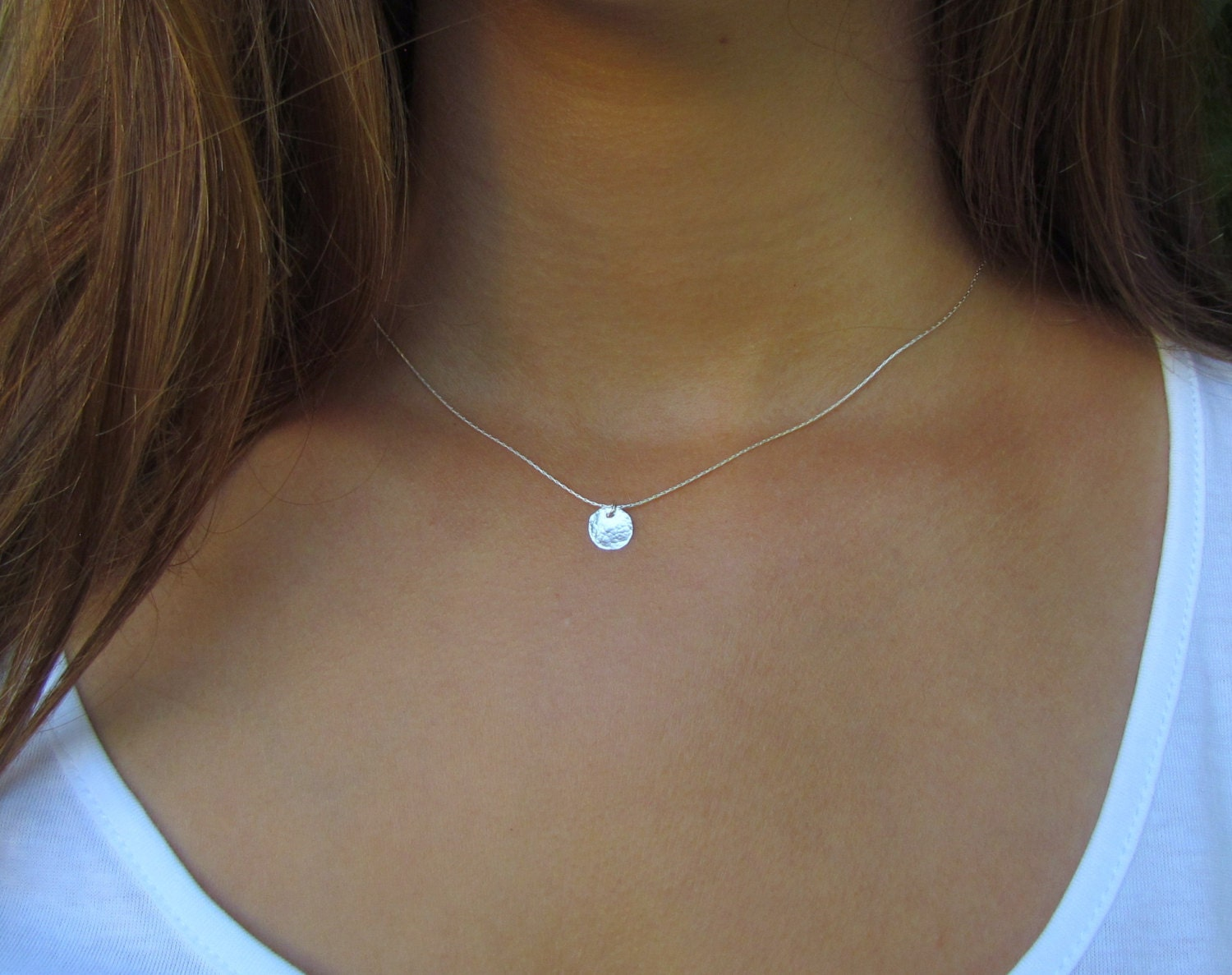 fullxfull rose silver gold chain il choker listing or dainty poxk necklace zoom lace