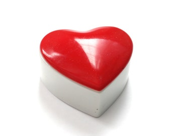 Sweet Little Heart Dish Made in Japan