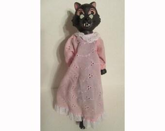 Big bad Wolf BIKIN Express Little Red Riding Hood Vinyl Figure