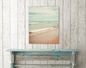 Photo canvas, ocean photography, beach wall art, photo on canvas, beach decor, ocean art - Dreamy Sea