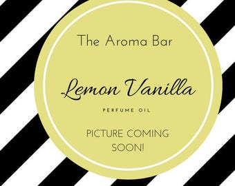 Lemon Vanilla Perfume Oil