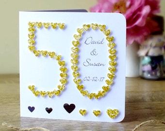 50th anniversary photo cards
