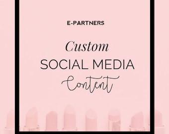 Custom Branded Content | Social Media Branding | Hair Salon