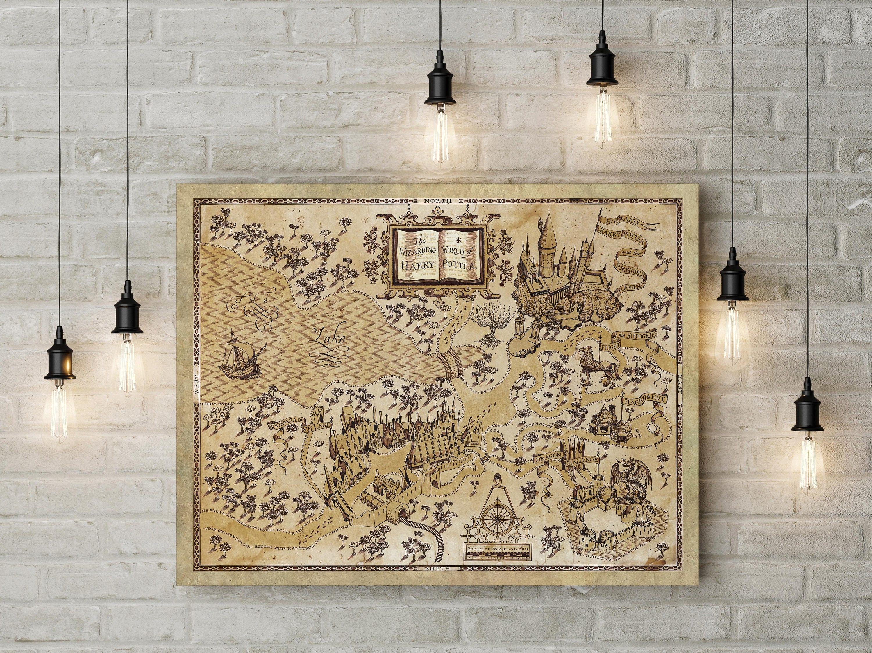 Beautiful Wallpaper Harry Potter Map - il_fullxfull  Snapshot_56941.jpg?version\u003d0
