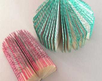 Folded book | Book Sculptures | Folded book | Gift Idea | Art