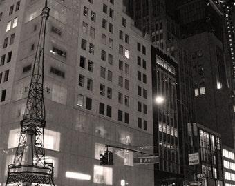 Fifth Avenue,New York City. Fotografia di viaggio originale. 18 x 24 cm (7,08''x 9,44'')