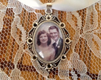 Wedding bouquet remembrance charm I will do your photo.