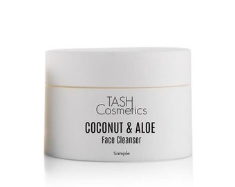 Coconut Aloe Face Cleanser-Sample