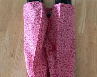 Travel Shoe Bag - Pink