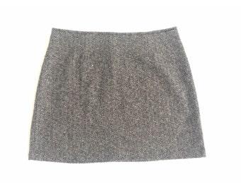 Vintage 90s Grunge Plaid Mini Skirt XOXO