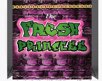 8X8 FEET PhotoBooth backdrop, Instant Download, Fresh Princess PhotoBooth, Props,Fresh Princess, 90s photo booth,Fresh Prince, Photo Props