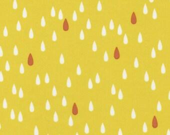 L's Modern Basic Yellow Lecien Japan by the Half Yard Japanese fabric