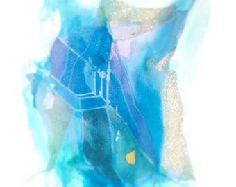 Satellite Blue Wave