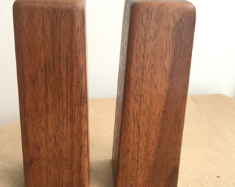 Vintage Danish Modern Teak Salt & Pepper Set