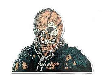 Jason Vorhees Friday the 13th Horror Fridge Magnet