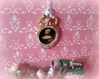 miniature 1/12 Vintage frame