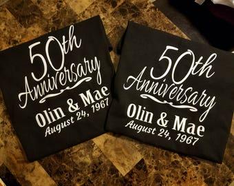 Couple Anniversary T-Shirts