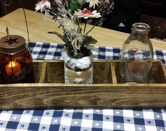 Rustic Centerpiece, Wood Box,  table centerpiece,  wedding table centerpiece,  wooden centerpiece,  rustic table box centerpiece