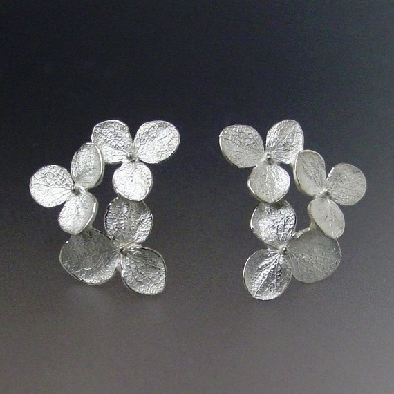 white bhp earrings ebay flower