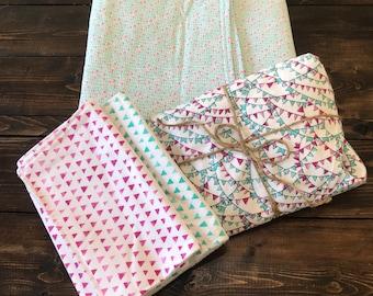 Pink & Teal Baby Set