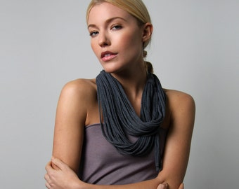 Gifts for Women, Girlfriend Gifts, Infinity Scarf, Gifts For Mom, Womens Gifts, Mom Gifts, Gray Scarf, Womens