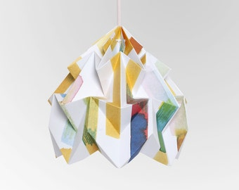 """Moth origami lampshade """"Midzomer"""" - in collaboration with Tas-ka"""