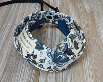 Liberty Camera Strap - Figs DSLR Camera Strap - Photography Accessories - Handmade Neck Strap - Liberty of London Mabelle Blue