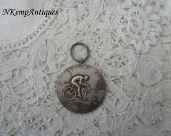 Vintage cycling medal/pendant