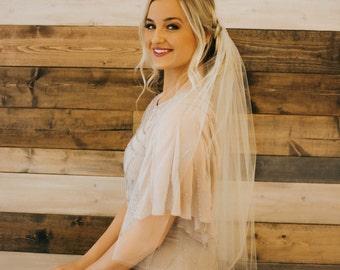 Veil Elbow Length Bridal Illusion Wedding Veil