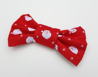 Dog Bowtie - Christmas Red Santa /  Father Christmas