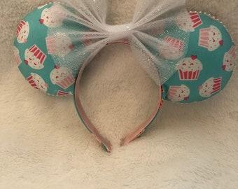 Cupcake Mouse Ears