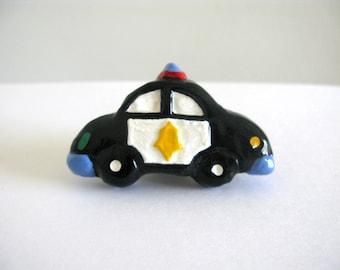 Polizei-Auto-Regler - Keramik lackiert Kommode Schublade Knopf für Kinderzimmer