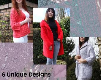 Hand Knitting Patterns: Designer Knitwear - Autumn Collection 2