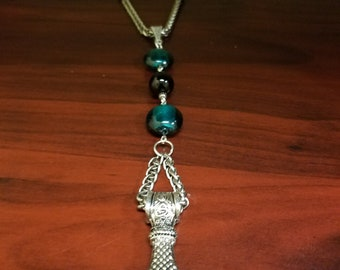 "Rear View Mirror Charm ~ Car Ornament & Accessory- ""Thor's Hammer"" CarGem"