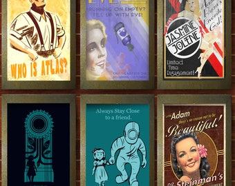 Bioshock Poster Set