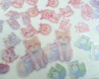 Adorabile gatto adesivi - 50 adesivi