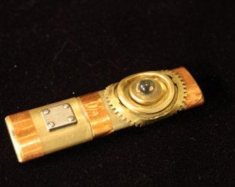 Brass and copper Steampunk USB 3.0 drive, 16Gb