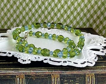 Handmade Ocean Colors Necklace