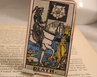 Tarot Altar Death Card Meditation Altar Supernatural Inspirational Desk Accessory