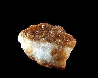 "Citrine Druze Crystal Cluster 2 1/2"" Glittering  7.5 oz.  A581"