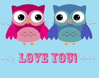 Owl Always Love You Printable Valentine's Day Card
