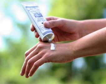 Gardenia Lily Beeswax Hand Cream || Organic Beeswax Hand Lotion || Probiotic Hand Cream || Natural Hand Cream