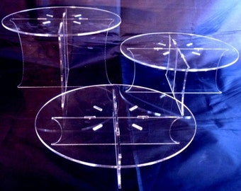 Round Wedding / Party Cake Table Display Stand