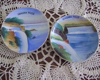 Vintage Niagara Falls Souvenir Small Plate's Japan
