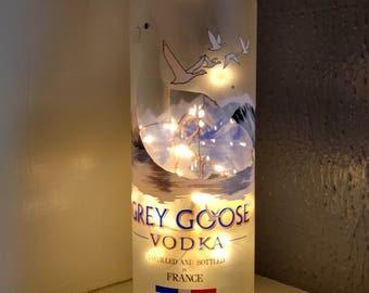 Amazing Grey Goose Liquor Bottle Lamp