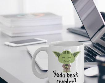 Cobbler Mug - Cobbler Gifts - Funny Cobbler Mug - Yoda Best Cobbler Gifts - Star Wars Mug - Yoda Best Cobbler Pun Mug